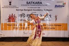A competitor in Nata Nrityam, 2017