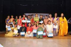 Certificate distribution to participants of All Assam Sattriya Dance Competition, 2016