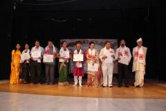 Felicitation to eminent personalities of Assam by Satkara