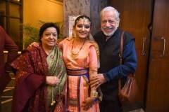 From right Avinash Pasricha, Meenakshi and Santosh Pasricha. Photo Credit - Hirak Jyoti Kalita