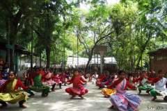 Participants during Sattriya dance workshop held in Parijat Academy Guwahati, 2014