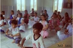 Participants from Sattriya dance workshop held in Snehalaya Guwahati, 2013